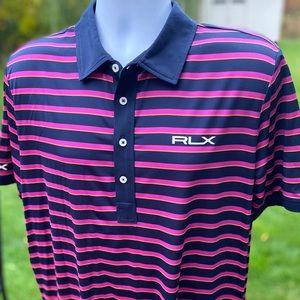 Ralph Lauren RLX *tour logos* golf polo shirt - XL